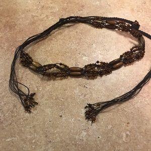 Accessories - Beaded Belt